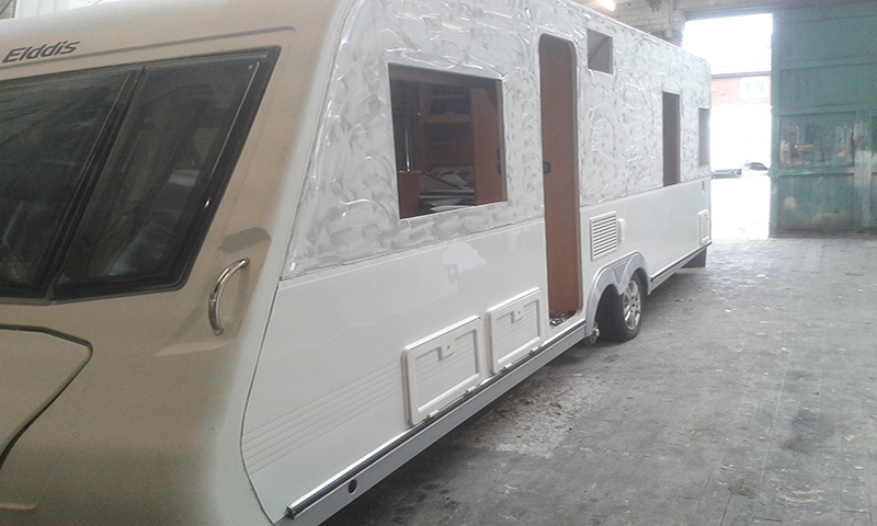 Before And After Caravan Repair Services